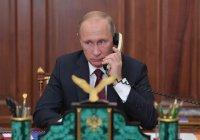 Путин провел телефонную беседу с Эрдоганом