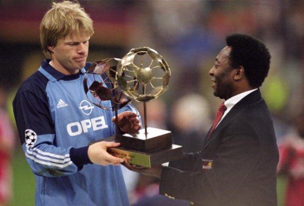 Оливер Кан- один из величайших голкиперов в истории мирового футбола