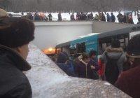 В Москве автобус влетел в подземный переход