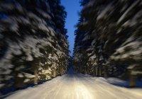 Автопилот для заснеженных дорог протестировали в Финляндии (ВИДЕО)