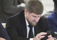 В Кремле прокомментировали блокировку аккаунтов Кадырова в соцсетях