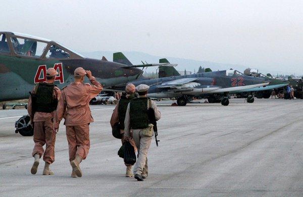 Большая часть российский войск из Сирии уже выведена.