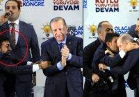 В сети обсуждают нападение «любвеобильного» поклонника на Эрдогана (Видео)