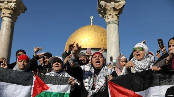 Дональд Трамп объявил о признании США Иерусалима в качестве столицы Израиля лишь 6 декабря.