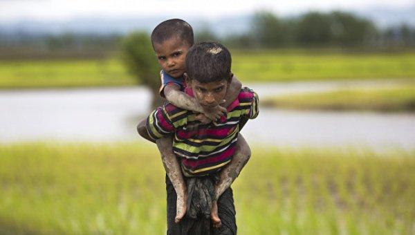 Дети рохинджа будут обучаться в школе имени Ахмата Кадырова.