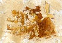Художник-аниматор Disney рисует чаем (ФОТО)