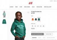 Бренд H&M уличили в расизме