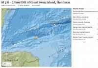На Карибах произошло землетрясение магнитудой 7,8