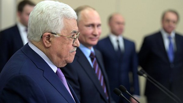 Визит лидера Палестины в Россию запланирован на февраль.