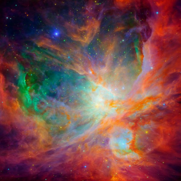 Ученые сопоставили 2 изображения и добавили картинке объемности, тем самым продемонстрировав космический объект «изнутри»