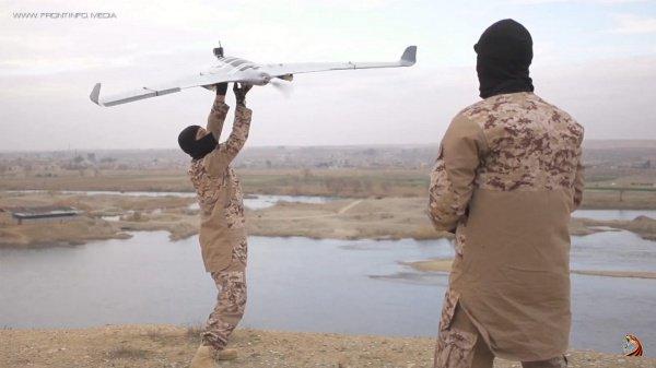 Террористы стали активно использовать беспилотники.