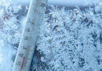 В Якутии замерзли градусники (ВИДЕО)