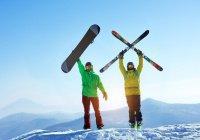 Ученые: Сноуборд опаснее горных лыж