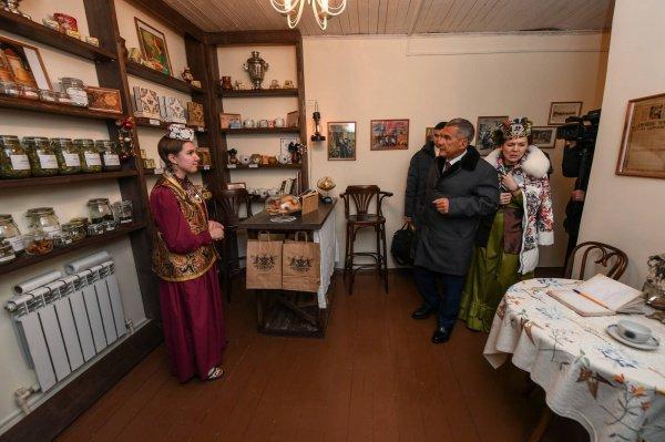 Рустам Минниханов посетил дом-музей Шигабутдина Марджани (Фото)