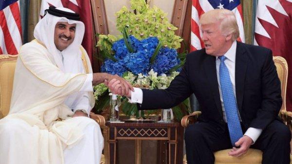 Лидеры Катара и США провели телефонные переговоры.