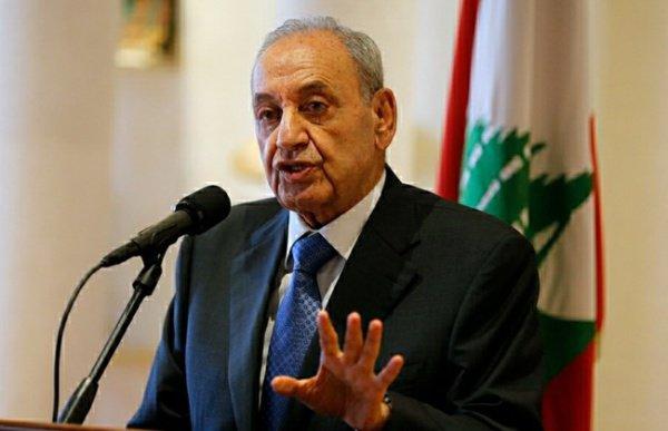 Спикер ливанского парламента Набих Берри.