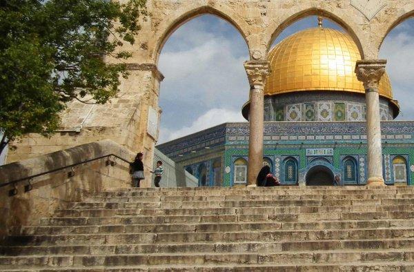 """Мечеть """"Аль-Акса"""", Иерусалим."""