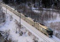 Лающий поезд запустили в Японии