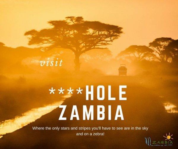 Замбия решила использовать оскорбления Трампа в своих интересах.