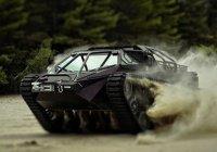 Первый в мире люксовый танк показали в США