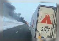 Опубликовано видео сгоревшего автобуса, в котором погибли 52 человека