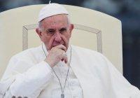 Папа Римский пообещал «бороться за Палестину»
