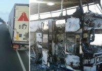 В Казахстане назвали причину пожара в автобусе, при котором погибли 52 человека
