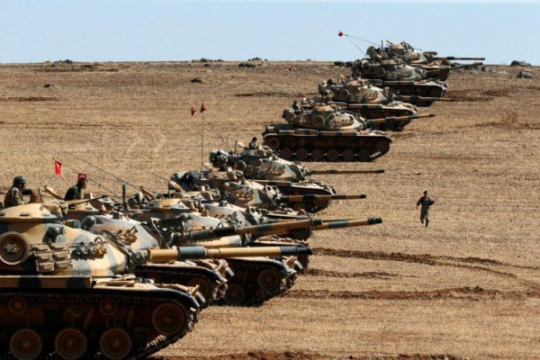 Накануне стала известна новость: в сирийский Африн вошли турецкие танки