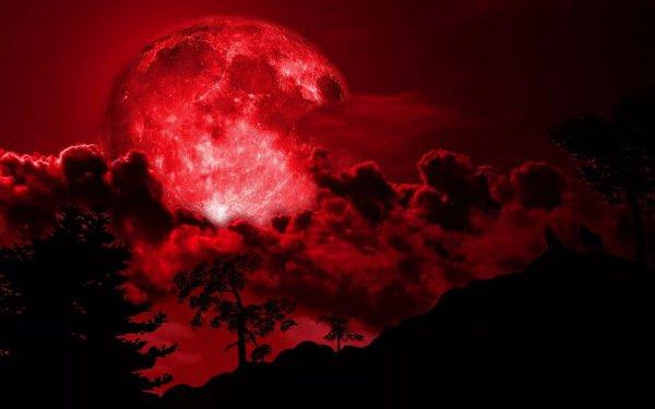 Эти 2 события 31 января совпадут с полным затмением Луны