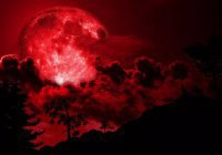 Россияне увидят «кровавую голубую Луну»