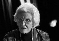 Скончалась самая старая актриса Голливуда