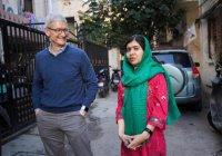 Корпорация Apple инвестирует в работу Малалы Юсуфзай