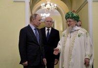 Путин поддержал рост числа мечетей