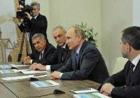 Путин сообщил о болезни Шаймиева