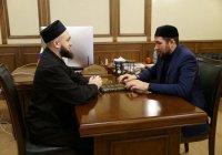 Камиль хазрат Самигуллин встретился с муфтием Кемеровской области