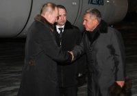Путин и Минниханов навестили находящегося в больнице Шаймиева
