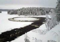 В Швеции обнаружили водоем со странным течением (ФОТО)