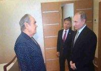 Кадры встречи Путина и Шаймиева в больнице появились в СМИ (Видео)