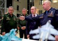Шойгу показал Путину трофейные «шахид-мобили» ИГИЛ