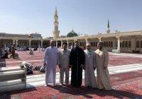 Муфтий и делегация ДУМ РТ совершили пятничный намаз в Мечети Пророка