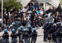 Десятки мигрантов устроили массовую драку с перестрелкой во Франции