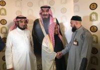 Муфтий РТ встретился с имам-хатыйбом мечети Пророка