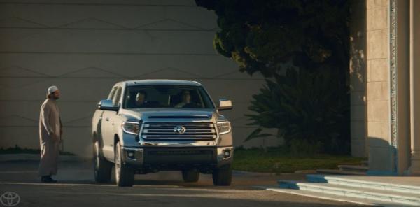Имам появился в рекламном ролике Toyota (Видео)