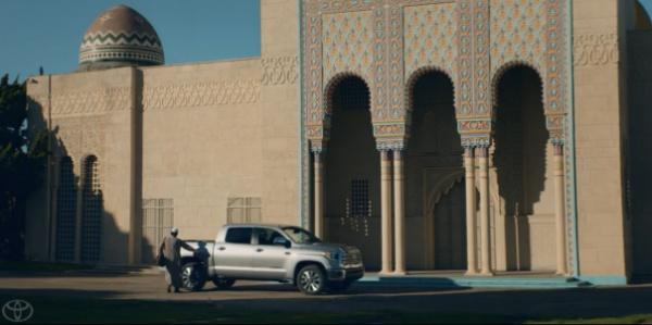 Кадр из рекламного ролика.
