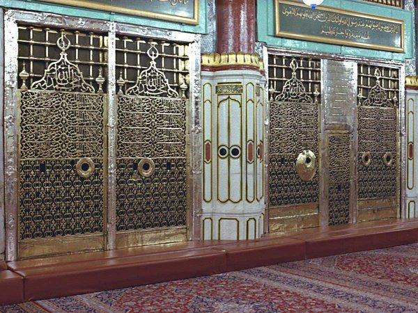 Могила пророка Мухаммада (с.г.в.)