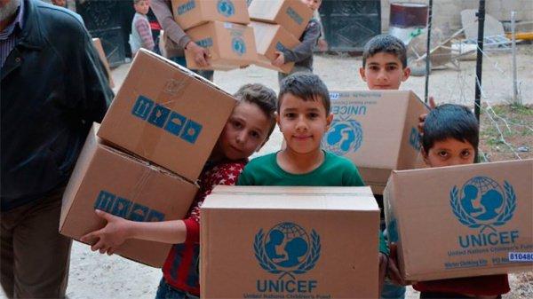 В результате войн на Ближнем Востоке пострадали 48 млн детей.