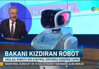 Технокурьез в Турции: робот попросил министра говорить медленнее (Видео)