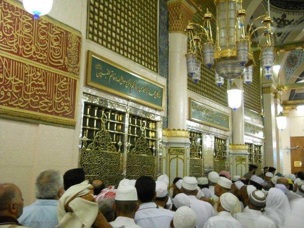 посещение могилы Пророка (ﷺ)