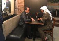 Видео встречи глав Египта и ОАЭ в кафе Абу-Даби облетело социальные сети