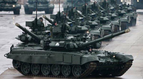 Россия лидирует в мире по количеству танков в армии